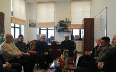 Muftija banjalučki posjetio Medžlis IZ-e Banja Luka