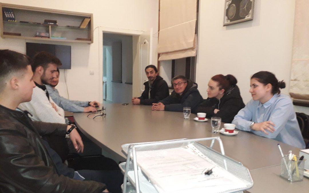 Sastanak koordinatora Mreže mladih