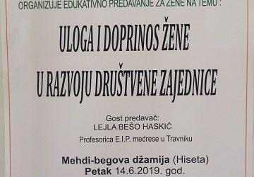 Edukativno predavanje za žene