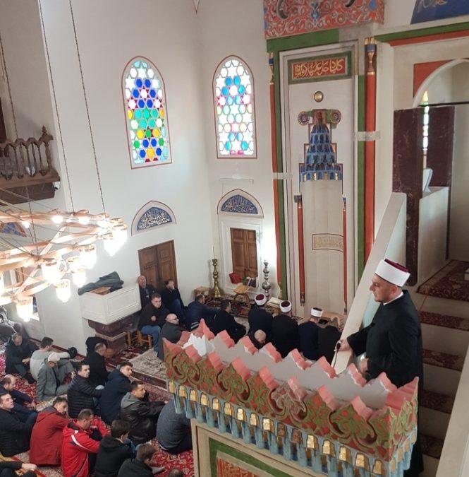 Hutbu u Ferhat-pašinoj džamiji održao hfz. Amir Mahić