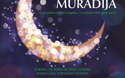 Najava banjalučke Muradijje