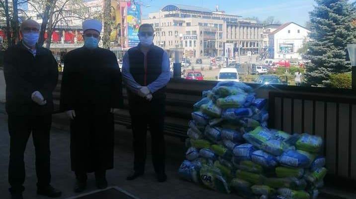 MIZ Banjaluka: Stotinu paketa džematlijama iz rizičnih kategorija