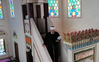 Hutba glavnog imama, Adnan ef. Jusića održana u Ferhadiji džamiji.
