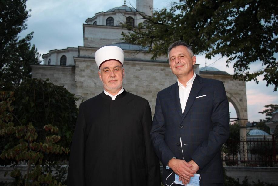 Reisu-l-ulema se susreo sa banjalučkim gradonačelnikom