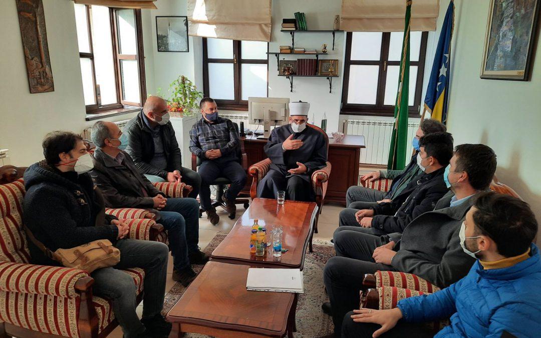 Posjeta nadzornog tima iz Turske Arnaudija džamiji