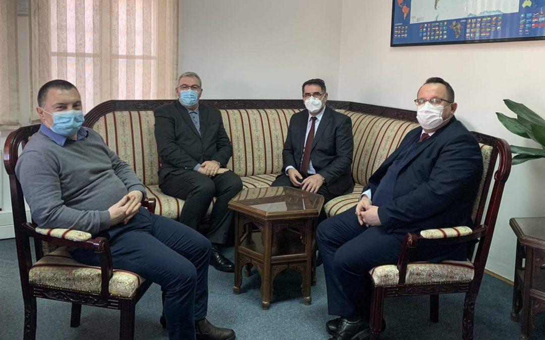 Muftija banjalučki posjetio Ured za društvenu brigu Rijaseta IZ, dogovoren nastavak uspješne saradnje